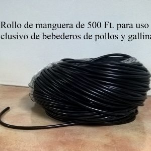Rollo de mangera de 500 Ft