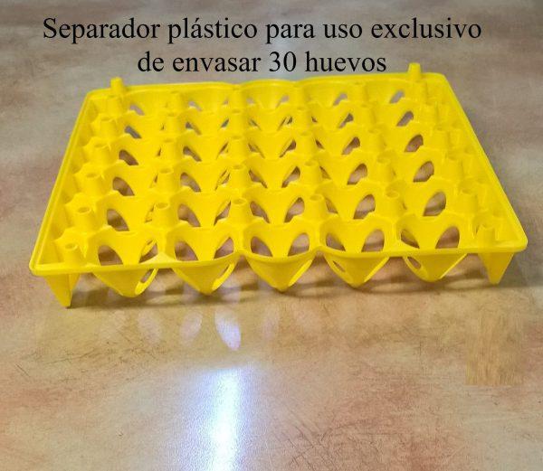 Separador plástico